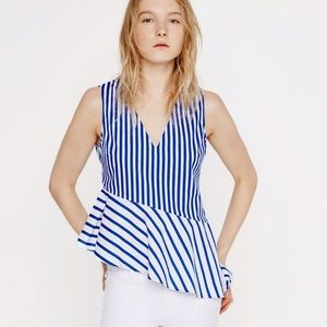 New! Zara asymmetrical tank